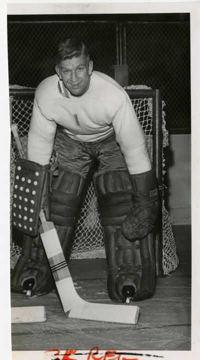 Seth Martin played from 1950 to 1973, including one year in the NHL. (File)