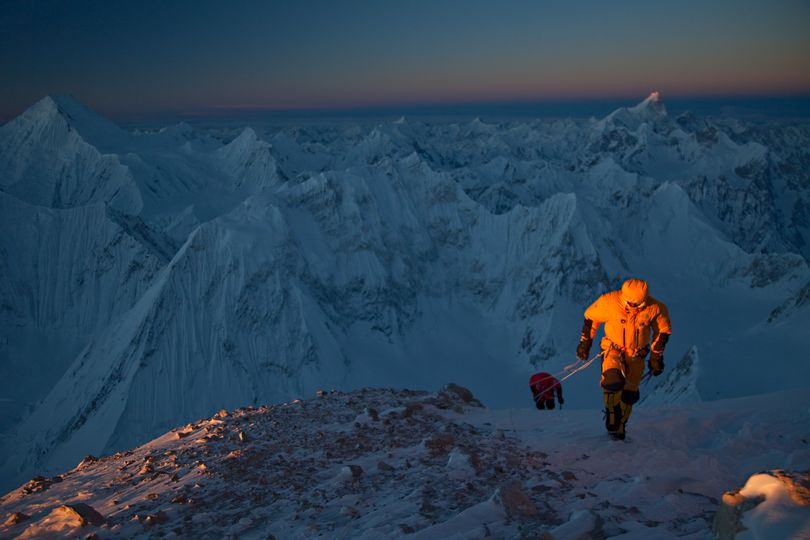 Over the past 26 years, 16 expeditions have tried and failed to climb one of Pakistan's 8,000 meter peaks in winter. In February 2011, Simone Moro, Denis Urubko, and Corey Richards became the first to achieve this alpine dream by summiting Gasherbrum II, surviving -50 degree temperatures and a massive avalanche. Richards captured both the glory and the pain of their adventure in the film documentary,