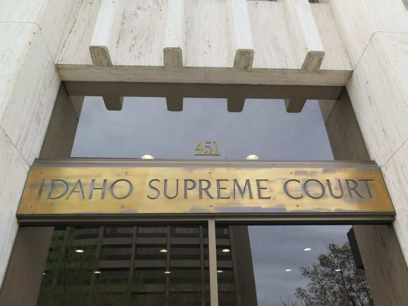 Idaho Supreme Court building in Boise (Betsy Z. Russell)