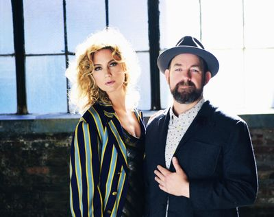 """Sugarland, the duo of Jennifer Nettles and Kristian Bush, ends its five-year hiatus with the release of """"Bigger."""" (Shervin Lainez)"""