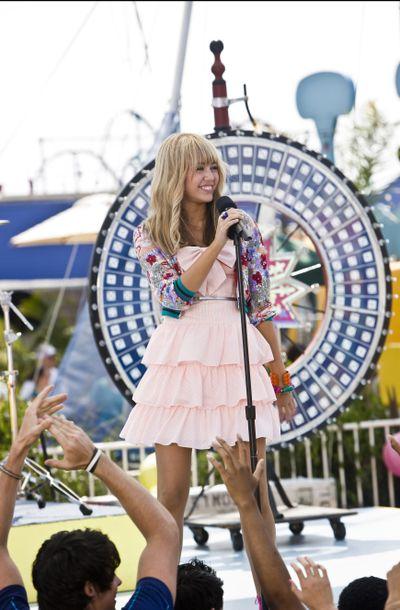 "Miley Cyrus hits the big screen in ""Hannah Montana: The Movie."" Disney (Disney / The Spokesman-Review)"