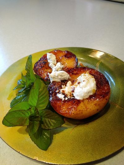 Adding infused butter to a favorite stone fruit like peaches or plums can create a wonderful summer treat.  (Courtesy Mary White)