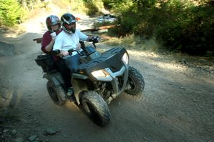 ATVs as well as all off-highway motorcycles and UTVs in Idaho must display new license plates plus the traditional OHV stickers in 2009.  (File / The Spokesman-Review)