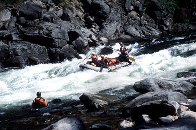 Rafting the Selway River in Idaho requires considerable skill, wilderness self-sufficiency and advance planning to get one of the limited number of permits offered in a lottery drawing. RICH LANDERS  (Rich Landers / The Spokesman-Review)