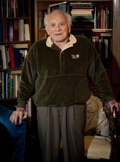 """Wafford """"Con"""" Conrad turns 100  Sunday.  (Colin Mulvany)"""