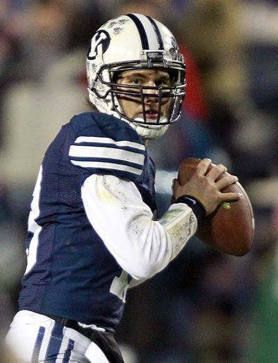 Quarterback Riley Nelson, a senior, returns to run a veteran BYU offensive unit after passing for 1,719 yards and 19 touchdowns as the Cougars compiled a 10-3 record in 2011. (Associated Press)