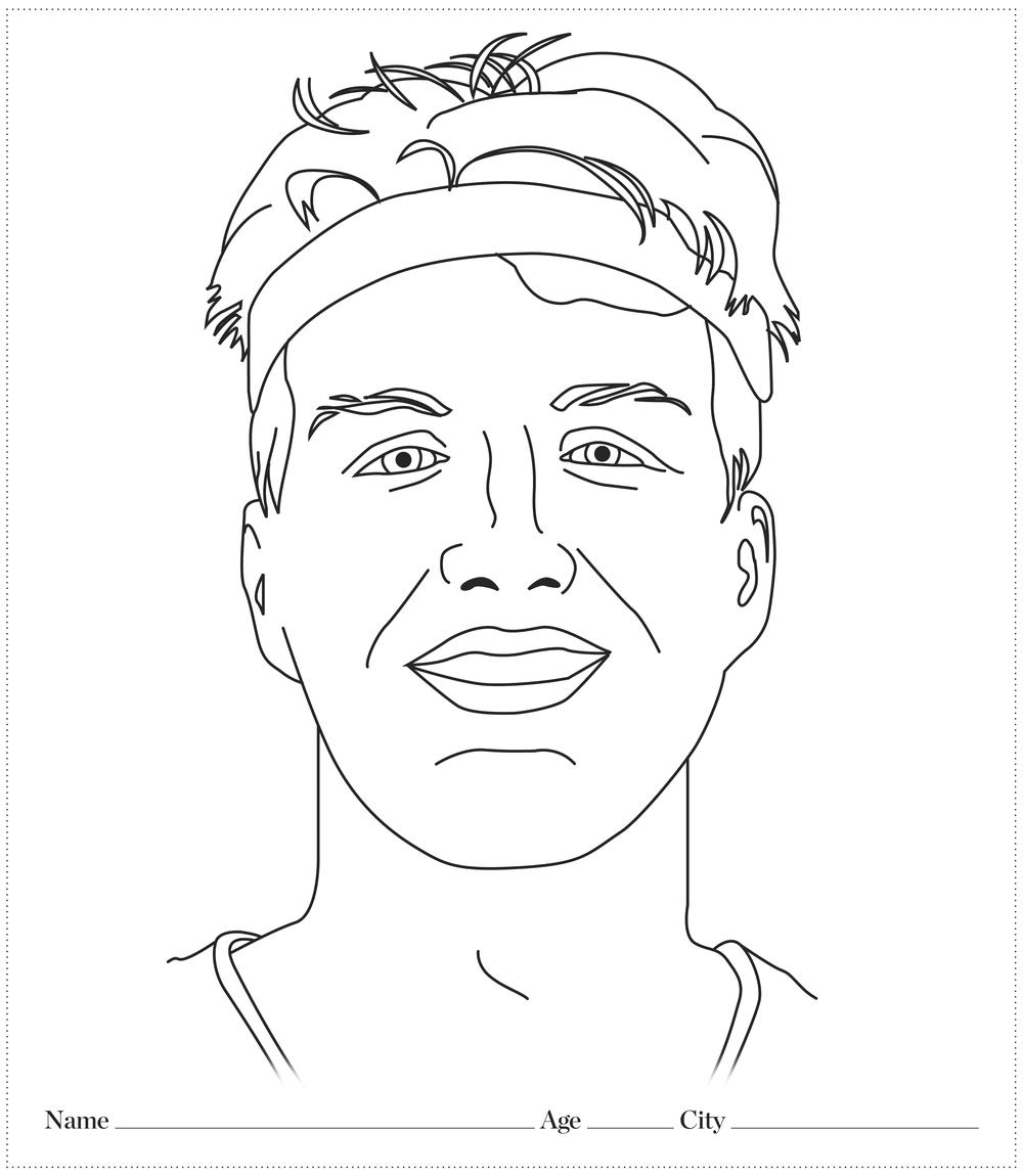 Draw your own Drew Manchu