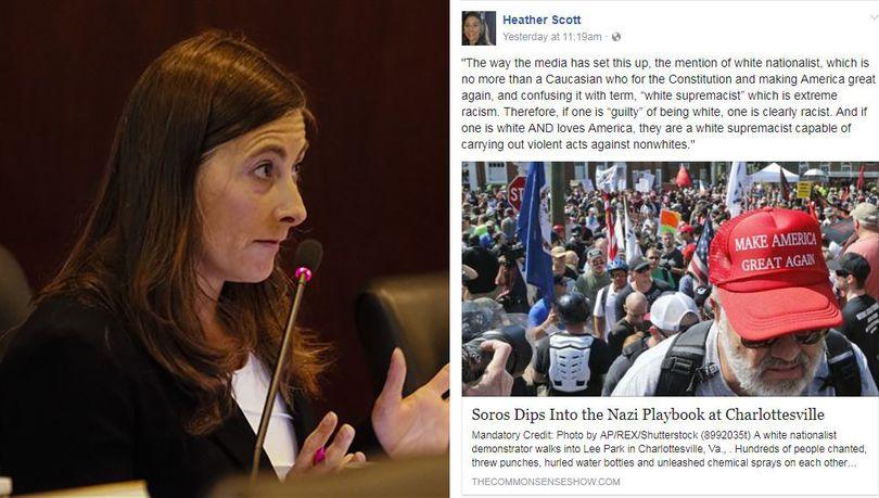 Screenshot from Rep. Heather Scott's personal Facebook account. (Facebook)