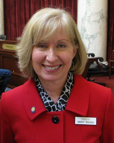 Sen. Mary Souza, R-Coeur d'Alene (Betsy Z. Russell / The Spokesman-Review)