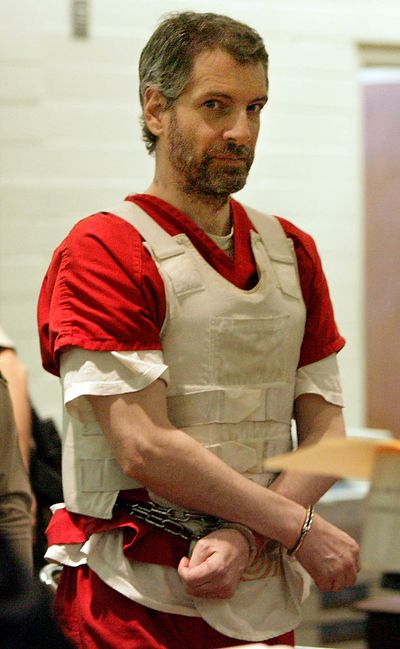Joseph Duncan as he appeared in April 2011 in an Indio, Calif., courtroom. (Terry Pierson / The Press-Enterprise)