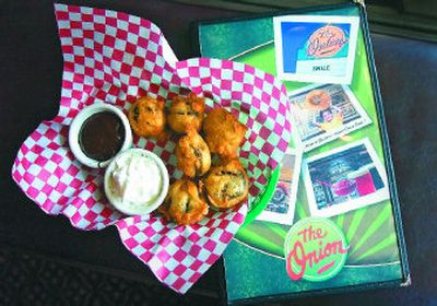 At The Onion downtown, you can order a basket of deep-fried Oreos that isn't typically listed on the regular menu.   (Christopher Anderson / The Spokesman-Review)