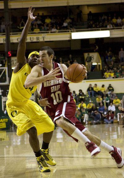 Seniors such as  Taylor Rochestie will have to lead WSU's postseason bid.  (Associated Press / The Spokesman-Review)