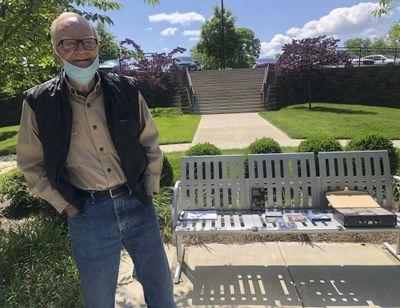 Retiree Bob Coleman poses for a portrait Thursday, May 7, 2020, in Franklin, Tenn. (Kimberlee Kruesi / Associated Press)