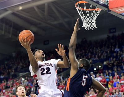 Byron Wesley has started every game for Gonzaga this season. (Tyler Tjomsland / The Spokesman-Review)