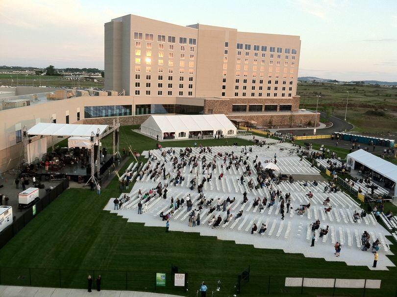 Northern Quest's outdoor amphitheater (Jim Kershner)