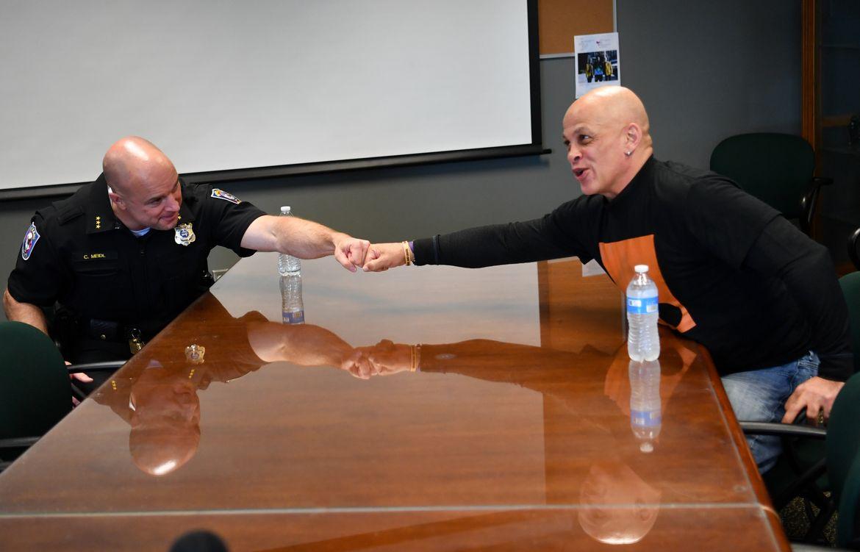 Conversation: Chief Meidl and Kurtis Robinson