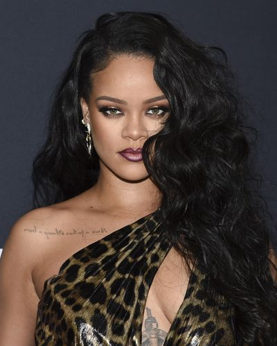Singer and fashion designer Rihanna attends the