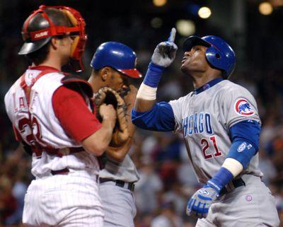 Sammy Sosa is the latest baseball star under scrutiny.  (FILE Associated Press / The Spokesman-Review)