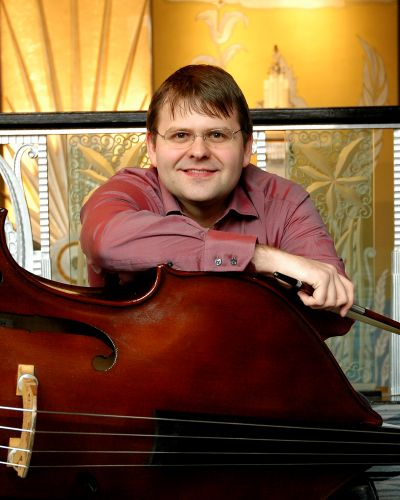 Double bassist Patrick McNally will perform Dittersdorf's Concerto No. 2 with the Spokane Symphony on Friday. Courtesy of Spokane Symphony (Courtesy of Spokane Symphony / The Spokesman-Review)