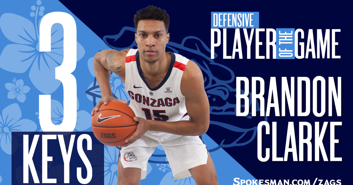 Brandon Clarke Gonzaga Bulldogs Final Four Basketball Jersey - Blue