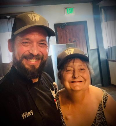 Chef Michael Wiley and Joan Lee at Prohibition Gastropub.  (Courtesy)