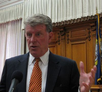 Idaho Gov. Butch Otter (Betsy Russell)
