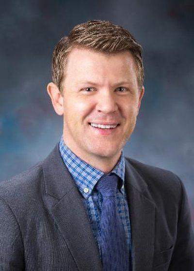 Rep. Dustin Manwaring, R-Pocatello