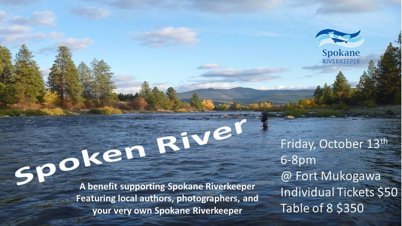 The annual fundraising event for the Spokane Riverkeeper.