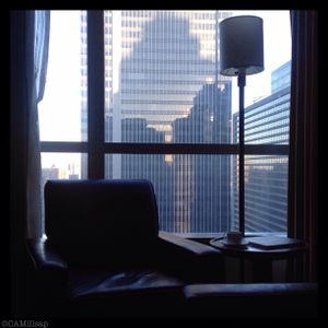 The Millennium Broadway Hotel, in Manhattan's theater district, offers skyline views and easy Times Square access. (Cheryl-Anne Millsap / photo by Cheryl-Anne Millsap)