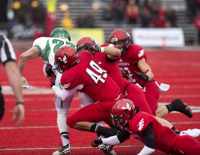 Eastern's defense stepped up against North Dakota, but will be really tested against a steady Montana offense in Saturday's Big Sky matchup at Roos Field in Cheney. (Dan Pelle)
