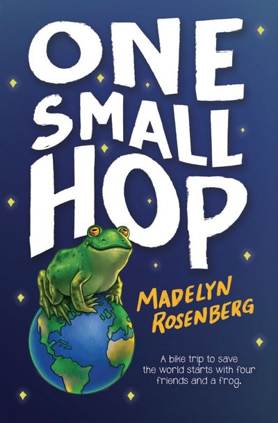 """""""One Small Hop"""" by Madelyn Rosenberg  (Scholastic)"""