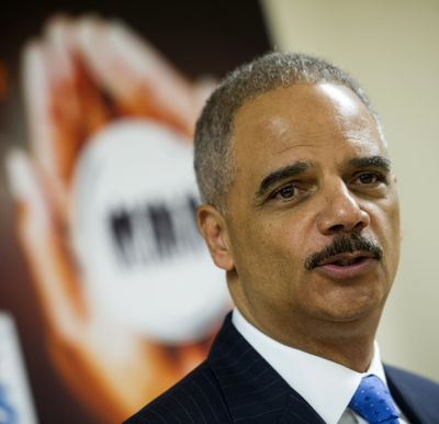 Attorney General Eric Holder after touring Northern Virginia Juvenile Detention Center. (Associated Press)