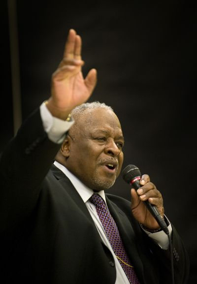 "The Rev. Percy ""Happy"" Watkins is well-known in Spokane for his activism and outspoken commitment to equality. (File)"