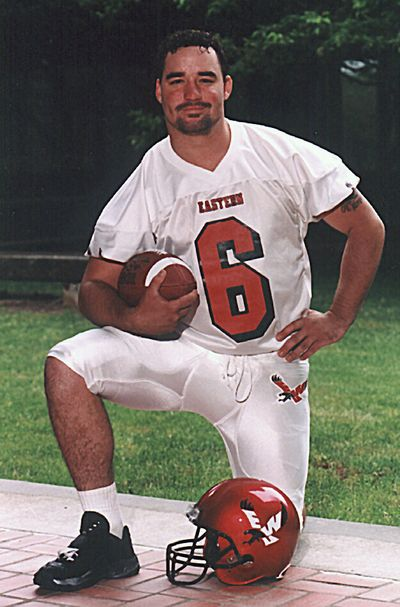 Nick Reynolds played football at EWU from 1998-2001. (EWU)