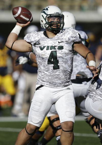 Portland State starting QB Kieran McDonagh (pictured) should give up snaps to mobile Paris Penn. (Associated Press)