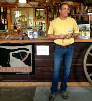 """Robert Kulp, co-owner of Black Dog Salvage in Roanoke, Virginia, will bring the business of salvaging old buildings to television on DIY Network's """"Salvage Dogs."""" (Cheryl-Anne Millsap / Photo by Cheryl-Anne Millsap)"""