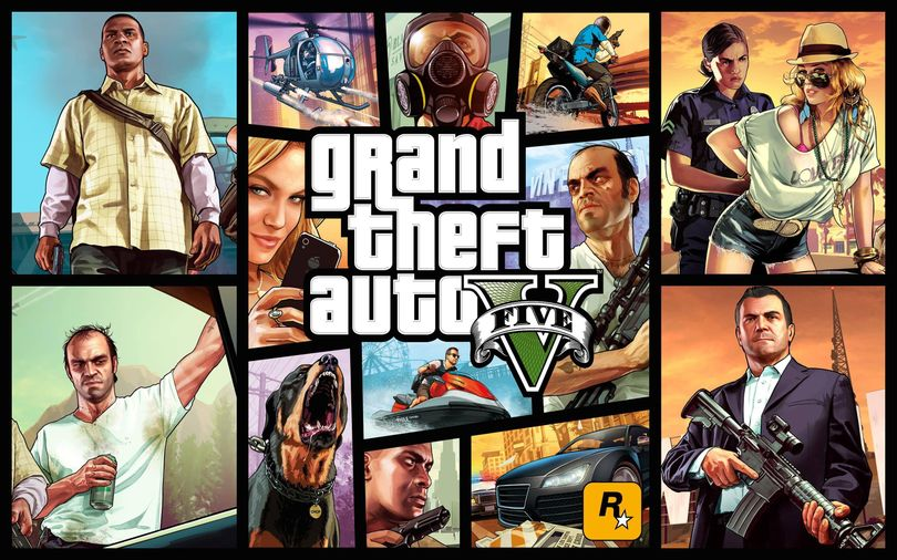 """The video game """"Grand Theft Auto V"""" is one simulation platform researchers and engineers increasingly rely on to test and train driverless vehicles."""