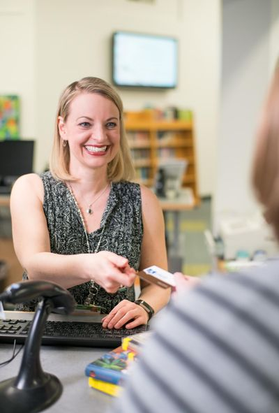 """Library Journal has named Aileen Luppert of Spokane County Library District as one of the publication's """"Movers and Shakers."""" (Courtesy)"""
