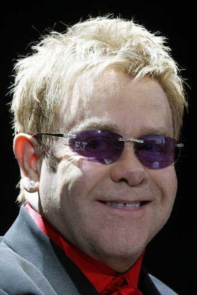 Elton John  (Dominic Favre / Associated Press)