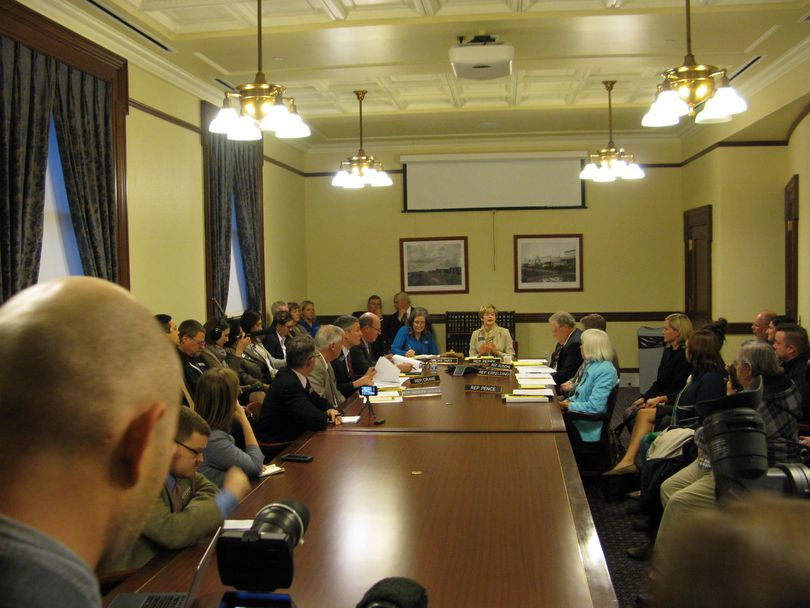 Idaho's House Ways & Means Committee considers introducing legislation to ban discrimination against gays; the