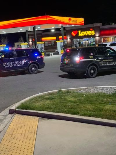 Ritzville police were called to a local Love's Travel Stop multiple times by the family of a suicidal man before he threatened police with a machete and was shot by an officer, according to a statement from the Columbia Basin Investigative Team. (Adams County Sheriff's Office)