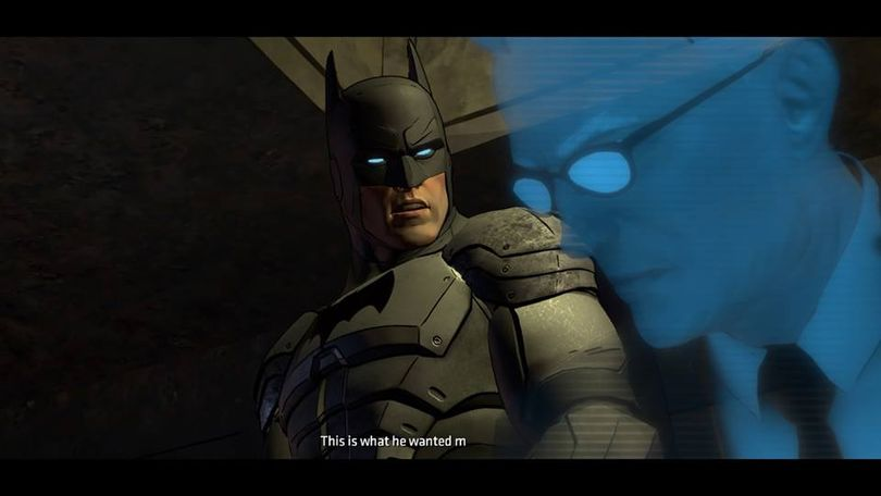 Batman: The Telltale Series brings the developer's signature adventure gameplay to Gotham City.