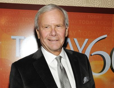 """This Jan. 12, 2012 file photo shows NBC News special correspondent and former """"Today"""" show host Tom Brokaw, attending the """"Today"""" show 60th anniversary celebration at the Edison Ballroom, in New York. (Evan Agostini / Associated Press)"""