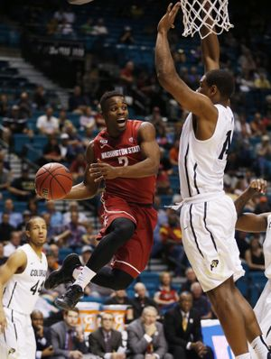 Washington State senior guard Ike Iroegbu says the Cougars have to have contributions from everyone to be successful this season. (Associated Press / Associated Press)
