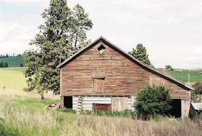 The Purcell family barn is a classic.  (The Spokesman-Review)