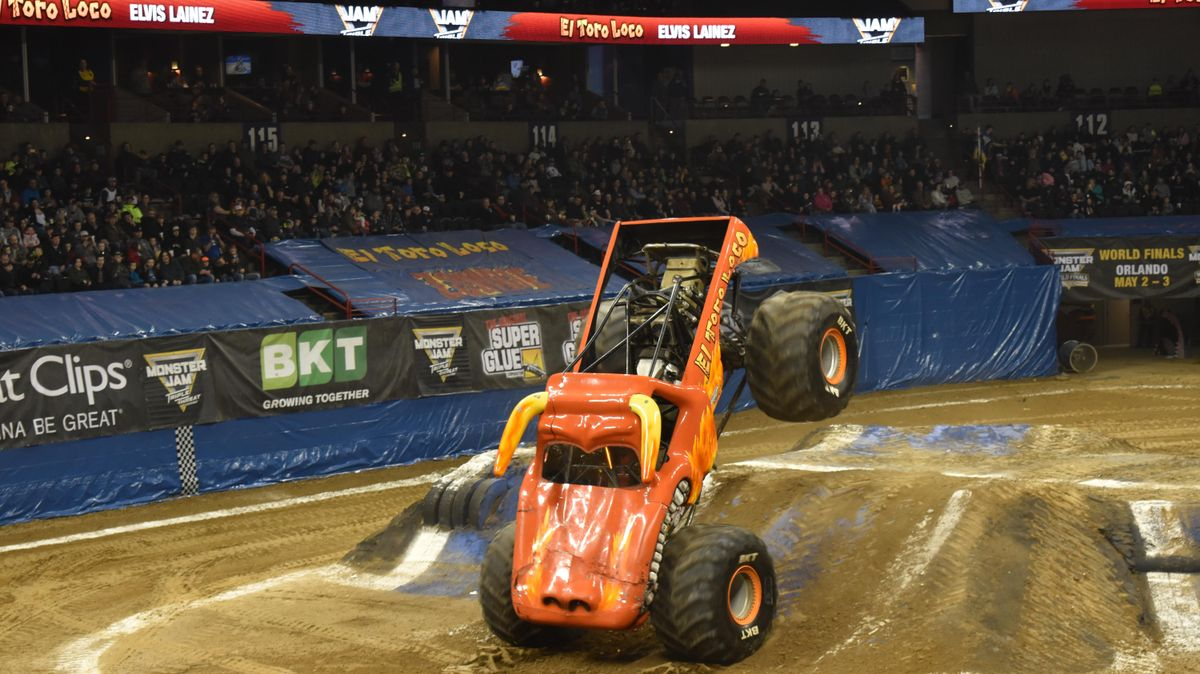 Sunday In Spokane Monster Jam Is A Learning Day And Fun Family Time At The Arena The Spokesman Review