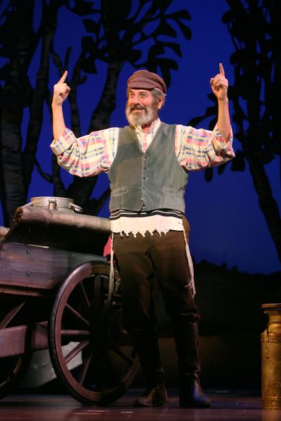 """Chaim Topol, who first auditioned for Tevye in 1966, performs """"Fiddler on the Roof"""" with Best of Broadway beginning Tuesday.  Best of Broadway (Photo by Joan Marcus Best of Broadway / The Spokesman-Review)"""