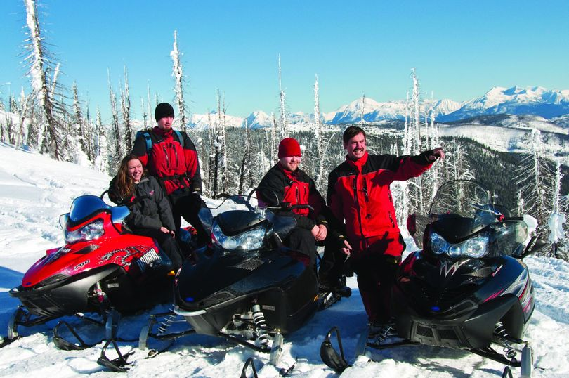 There are plenty of trails available for fans of snowmobiling.  (Tia Troy / Glacier Country)