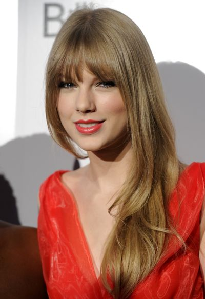 Woman of the Year award honoree singer Taylor Swift attends the 6th annual Billboard Women In Music event at Capitale on Friday, Dec. 2, 2011 in New York. (Evan Agostini / Agoev)