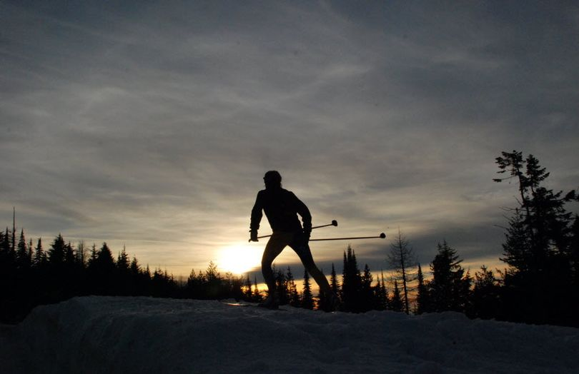Nordic ski areas are opening groomed trails around the Inland Northwest. (Rich Landers)